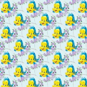 PRE ORDER - Whole new world Ariel Fish - Digital Fabric Print