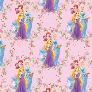 PRE ORDER - Princess Garden - Digital Fabric Print