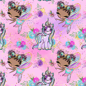 IN STOCK - Land of Magic Pink Unicorns - MINKY