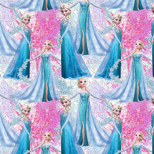 PRE ORDER - Frozen 2 Elsa - Digital Fabric Print