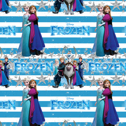 PRE ORDER - Frozen 2 Cast - Digital Fabric Print