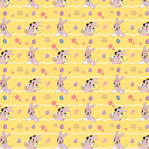 IN STOCK - Minnie Bunny Yellow - COTTON LYCRA