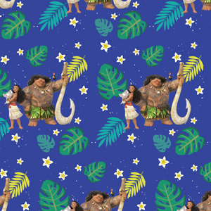 IN STOCK - Moana and Friends - WOVEN COTTON