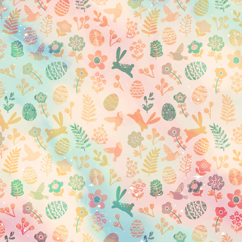 IN STOCK - Minnie Easter Floral - WOVEN COTTON