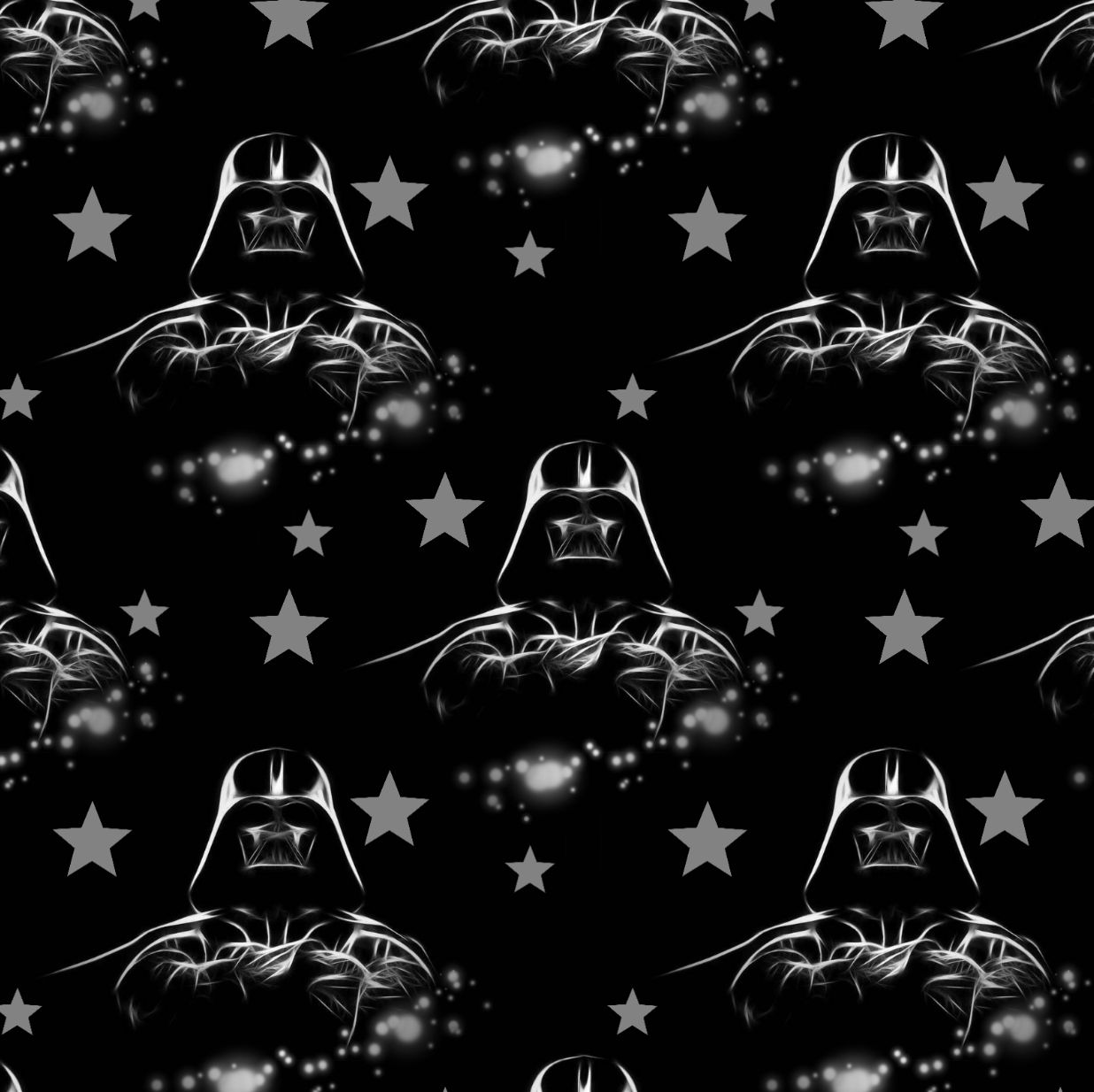 PRE ORDER - Star Wars Darth Vader Head - Digital Fabric Print