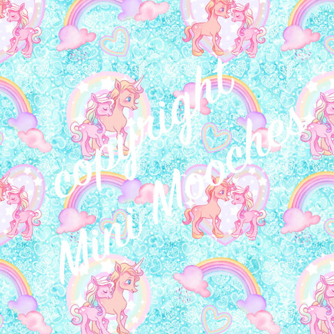 PRE ORDER My Little Unicorns - MM Exclusive Fabric Print