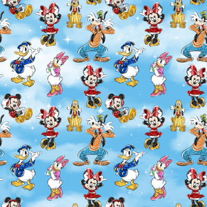 PRE ORDER - Mickey in the Sky Day - Digital Fabric Print