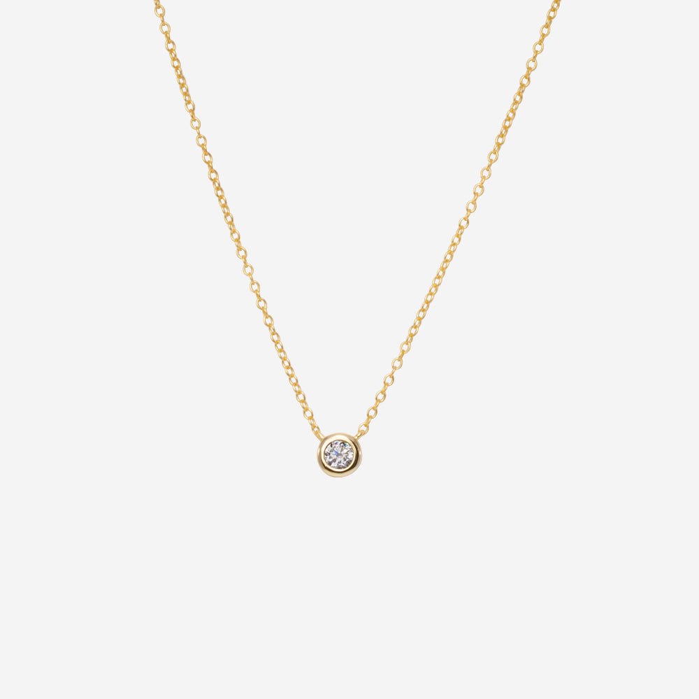 Classic Round Necklace