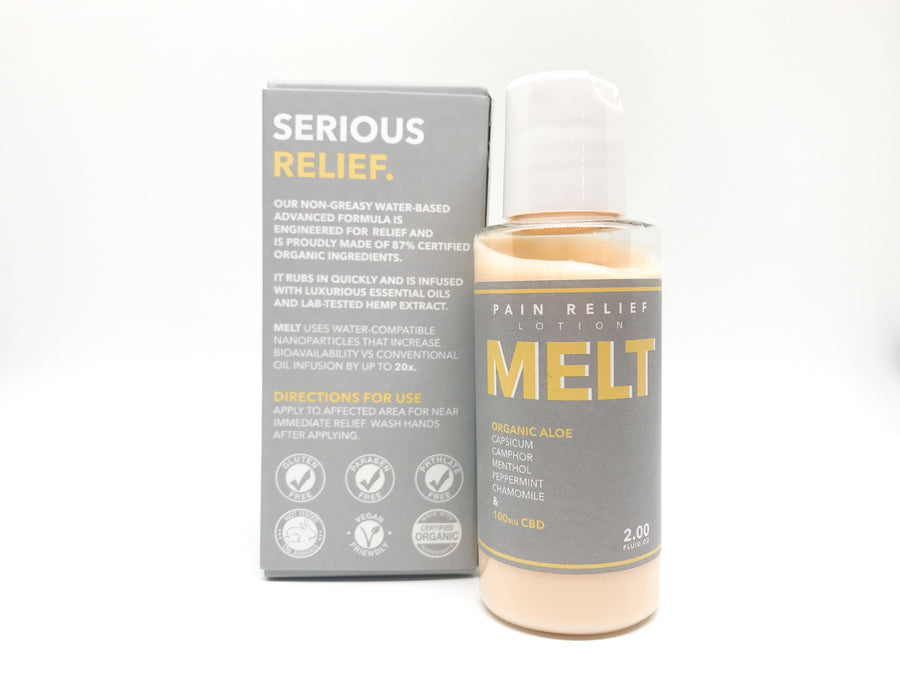 Melt CBD Lotion - 100mg