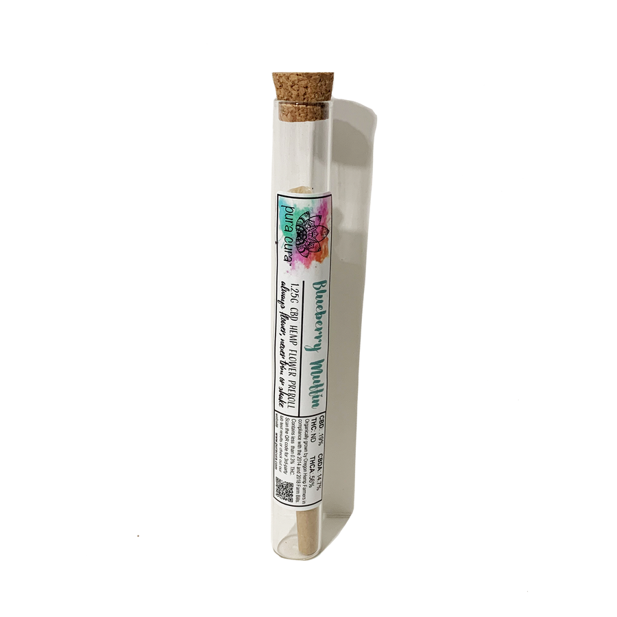 BLUEBERRY MUFFIN PREROLL (1.25grams)