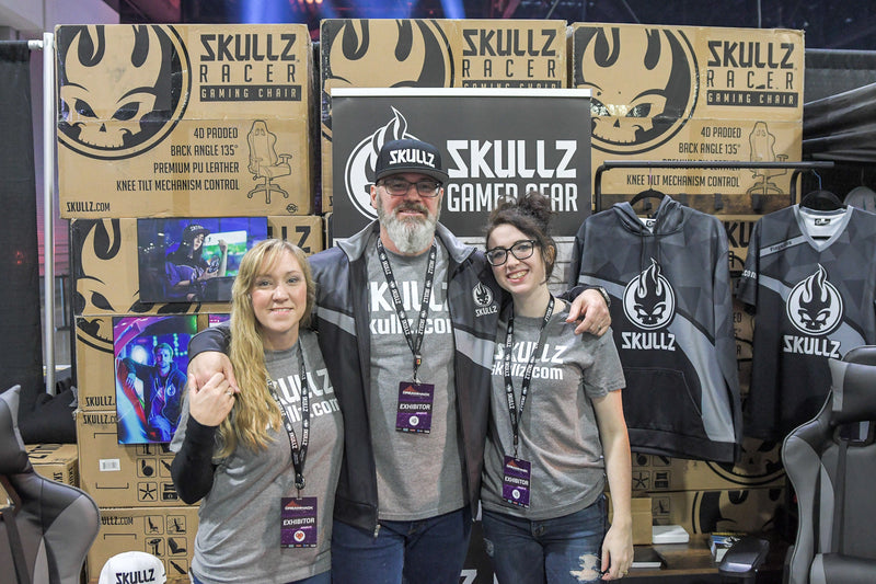 Skullz launches its new brand at Dreamhack Atlanta, 2019.