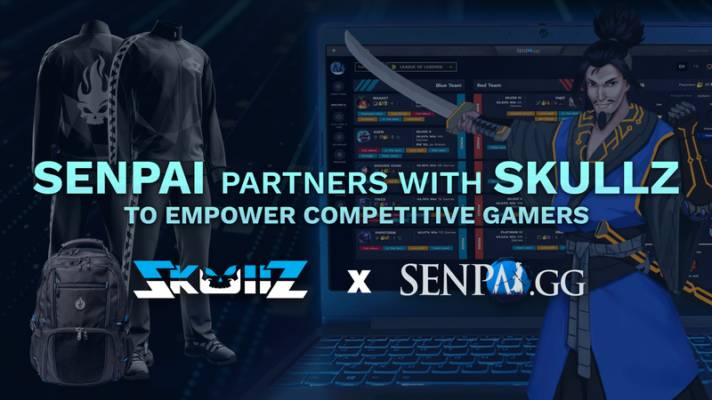 SenpAI partners with Skullz to Empower Competitive Gamers