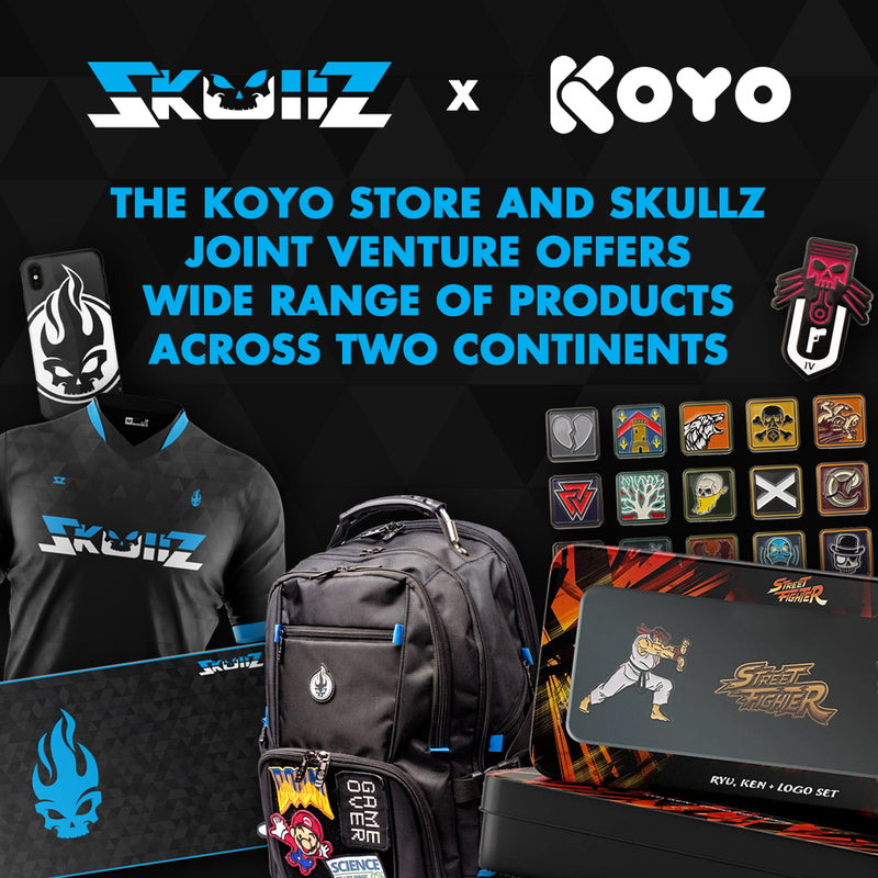 The Koyo Store and Skullz Joint Venture Offers Wide Range of Products Across Two Continents