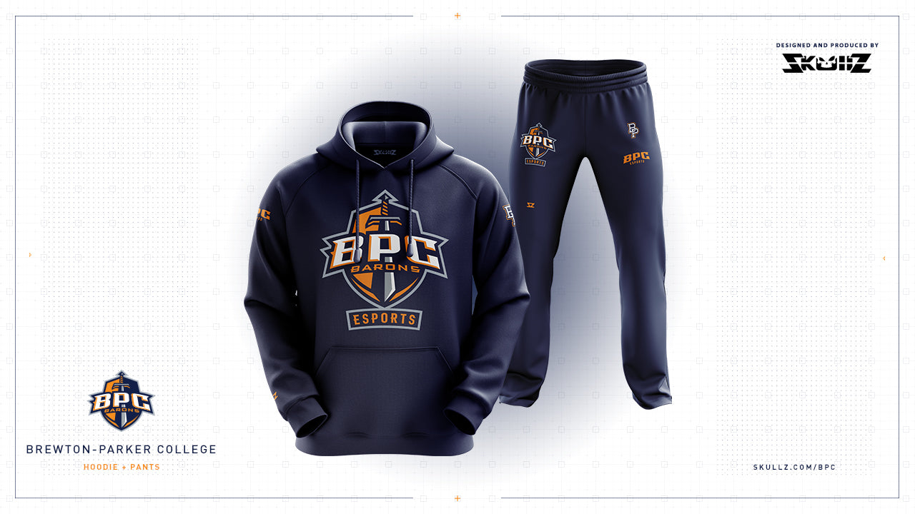BPC - College Esports Hoodie and Jogger Design