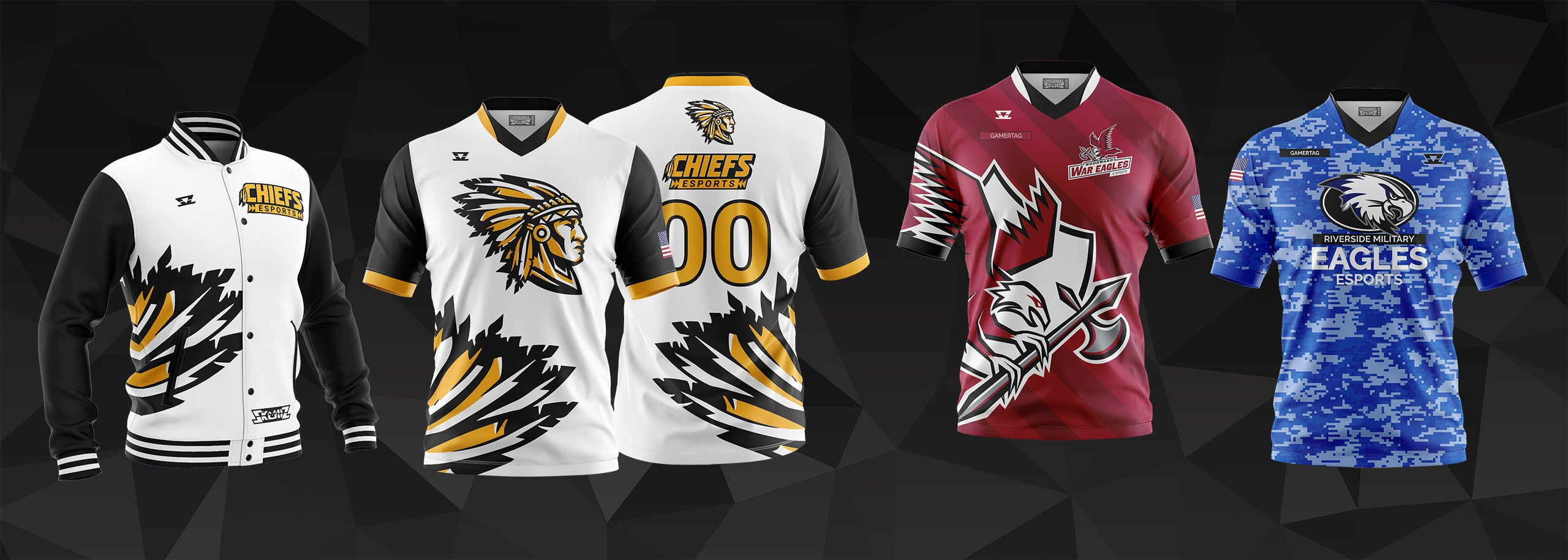 High School Esports Jerseys by Skullz