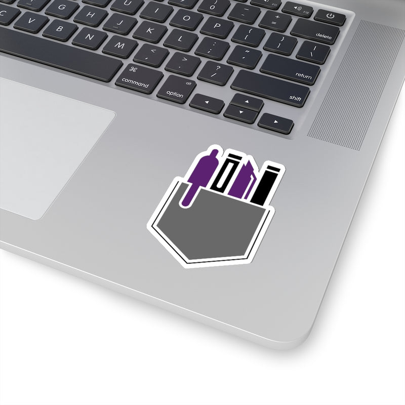 Swagged Out Nerds - Kiss-Cut Stickers