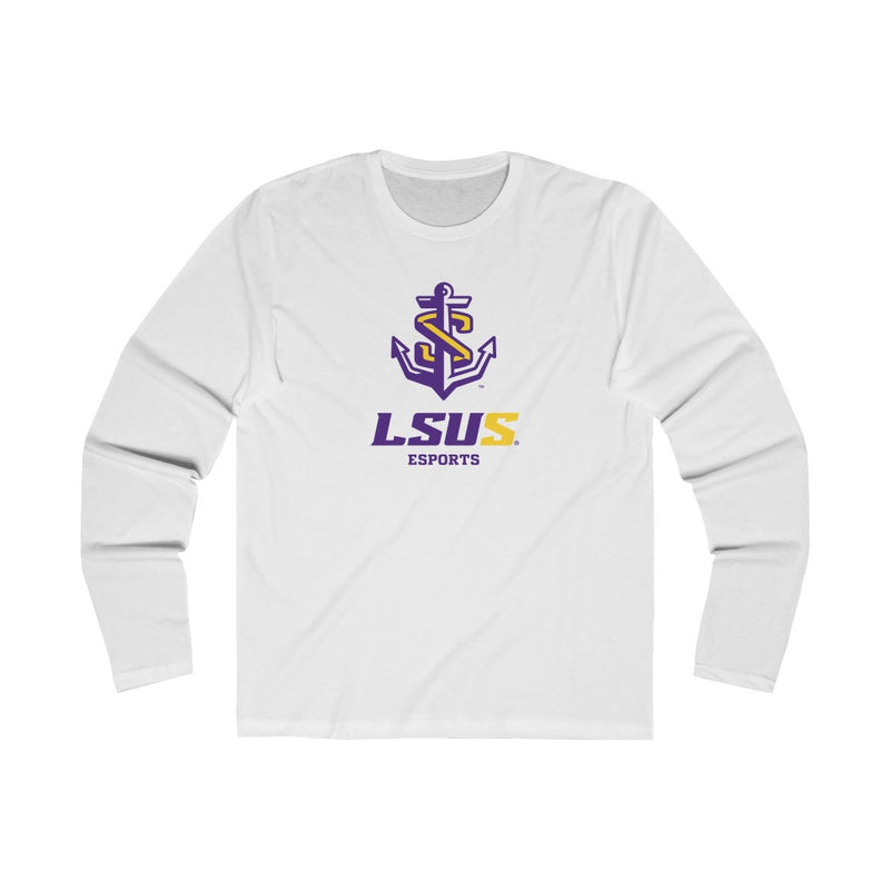 LSUS Esports - Men's Long Sleeve Crew Tee