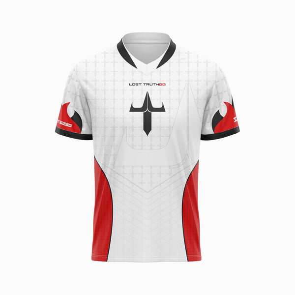Lost Truth - PRO Skullz Jersey - White