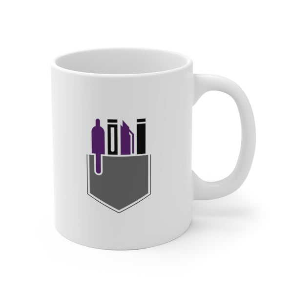Swagged Out Nerds - White Ceramic Mug
