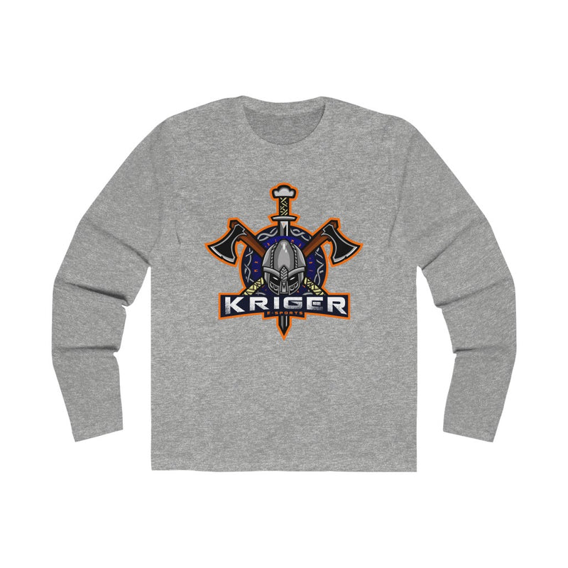 Kriger Esports - Men's Long Sleeve Crew Tee