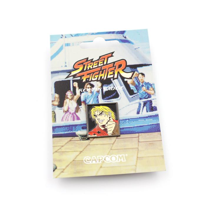 Ken Street Fighter Pin