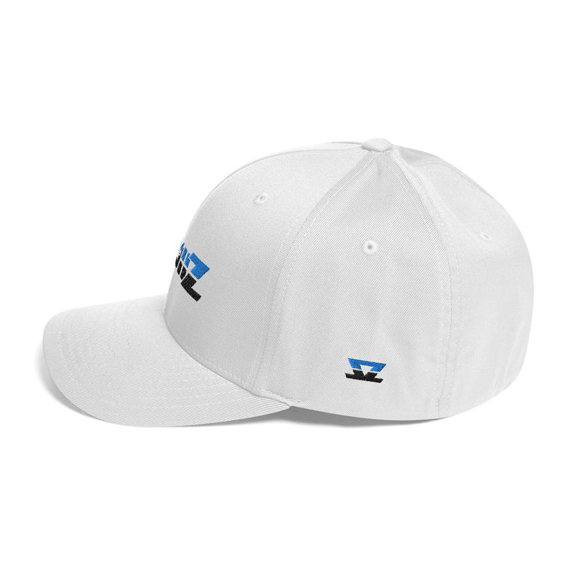 Skullz FlexFit Structured Twill Cap - White