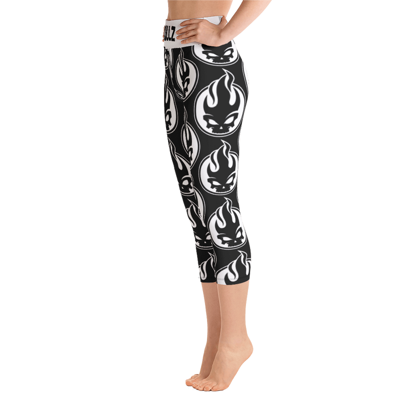 Skullz - Yoga Capri Leggings - For Gamers