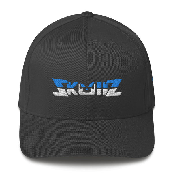 Skullz FlexFit Structured Twill Cap - Black