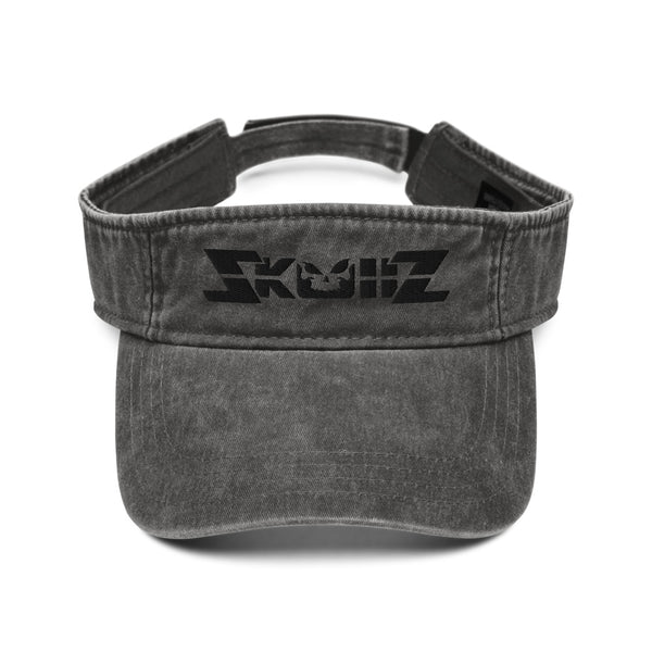 Skullz Denim visor