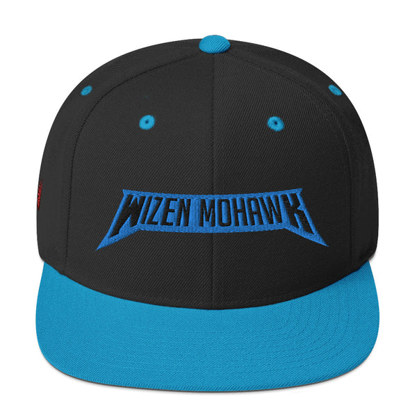 Wizen Mohawk - Snapback Hat - Black and Blue