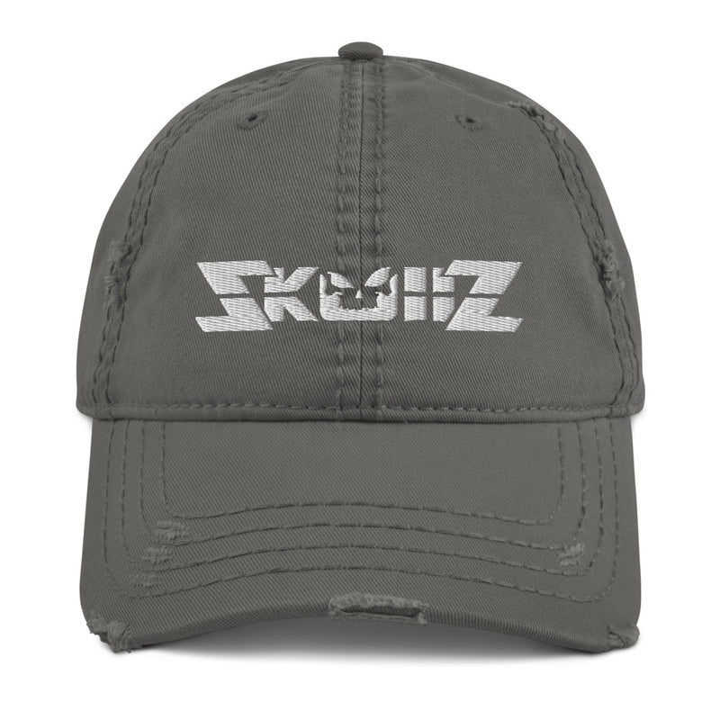 Skullz Distressed Dad Hat