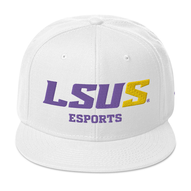 LSUS - White Snapback Hat