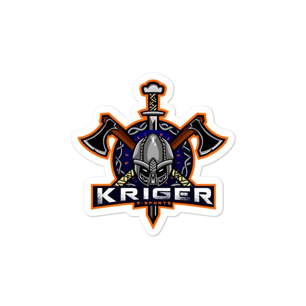 Kriger Esports - Bubble-free stickers