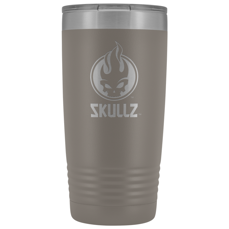 Skullz icon 20oz stainless steel, double-wall tumbler