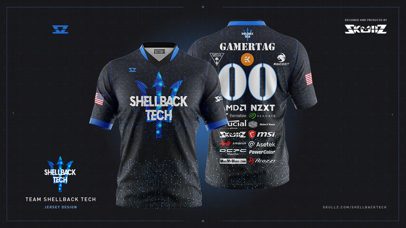 Shellback Tech - PRO Skullz Jersey - Personalized