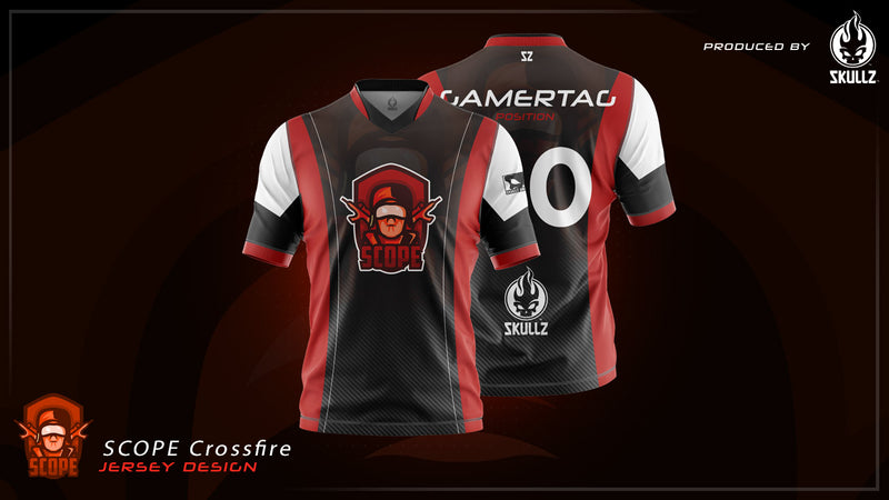 Scope Crossfire - PRO Skullz Jersey (pre-order)