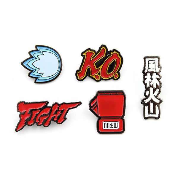 Street Fighter Iconic Symbols Set