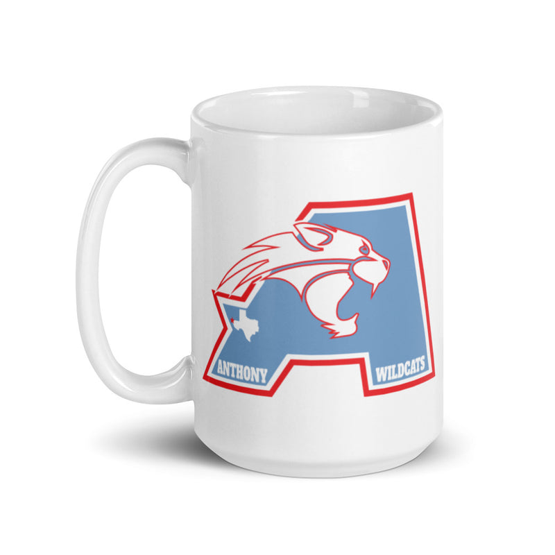 Anthony ISD - White glossy mug