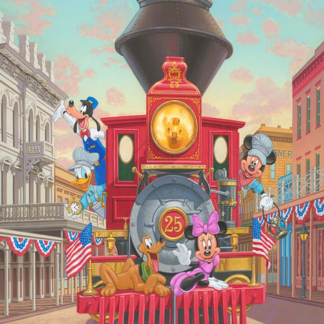 Manuel Hernandez for Disney Fine Art