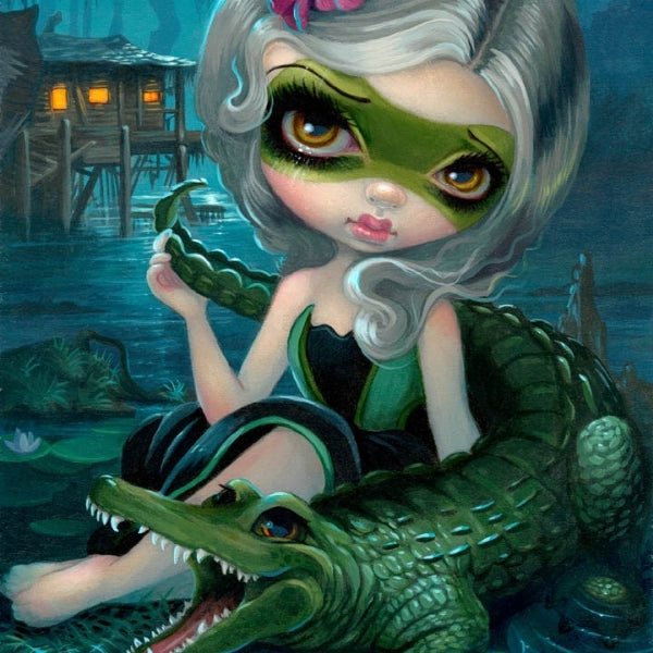 ALLIGATOR GIRL by Jasmine Becket Griffith