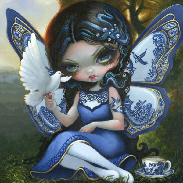 Jasmine Becket Griffith BLUE WILLOW FAIRY