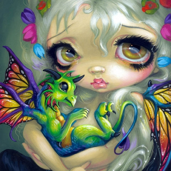 DARLING DRAGONLING IV by Jasmine Becket Griffith