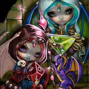 DICE DRAGONLINGS by Jasmine Becket Griffith