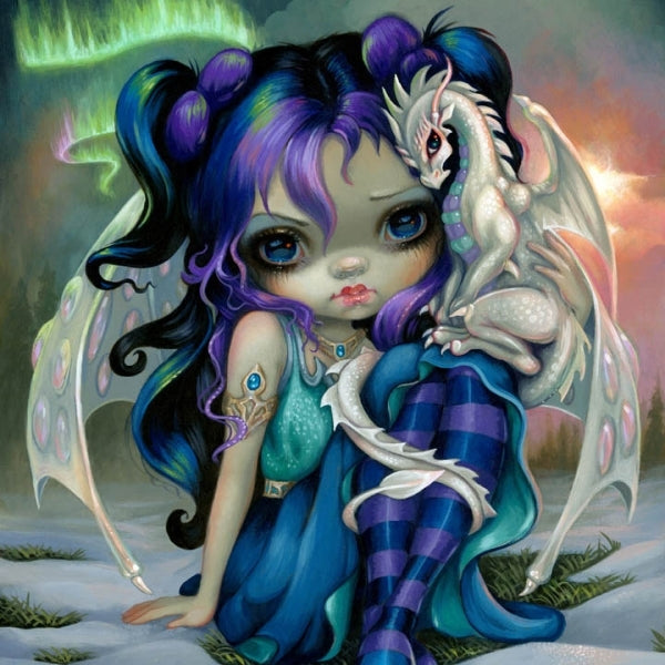 FROST DRAGONLING by Jasmine Becket Griffith