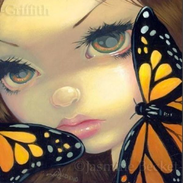 Faces of Faery #119 by Jasmine Becket Griffith