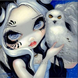 Faces of Faery #149 by Jasmine Becket Griffith