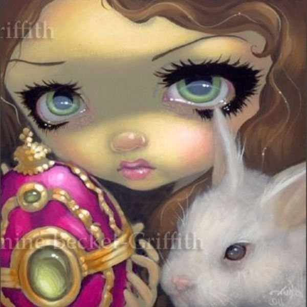 Faces of Faery #150 by Jasmine Becket Griffith
