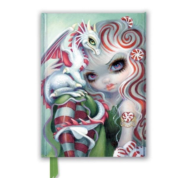Peppermint Dragonling Journal by Jasmine Becket Griffith