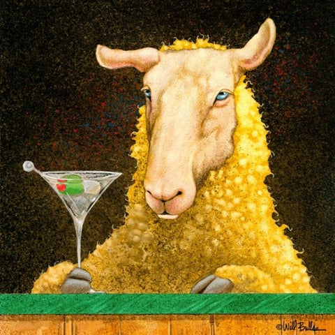 Sheep Faced on Martinis