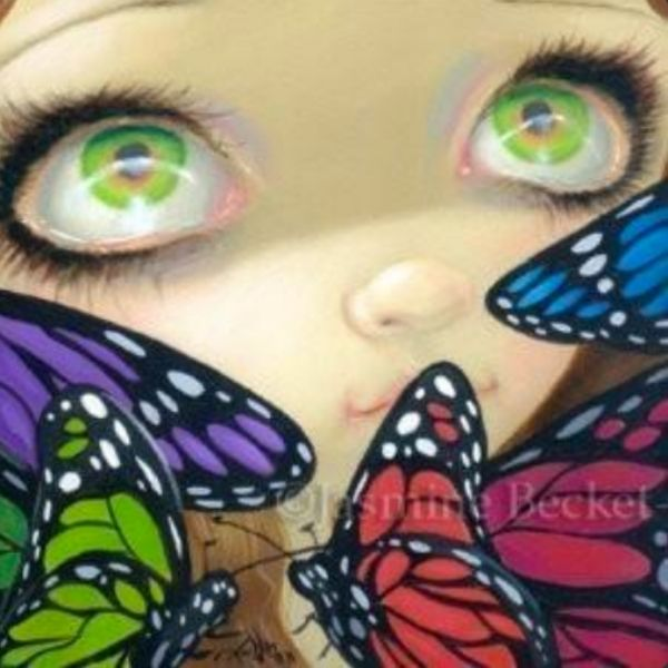 Faces of Faery #179 by Jasmine Becket Griffith